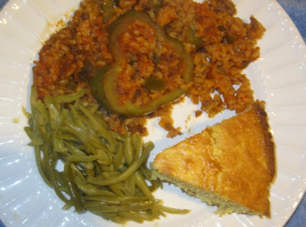 Bell Pepper, Sausage And Rice Casserole Recipe