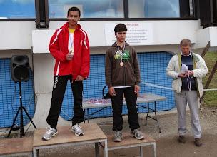 Photo: Brice : Champion de Gironde 50 m
