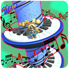 Ball Jump Piano Tile Tower Colors