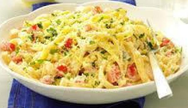 Lemon-garlic Fettuccine Recipe