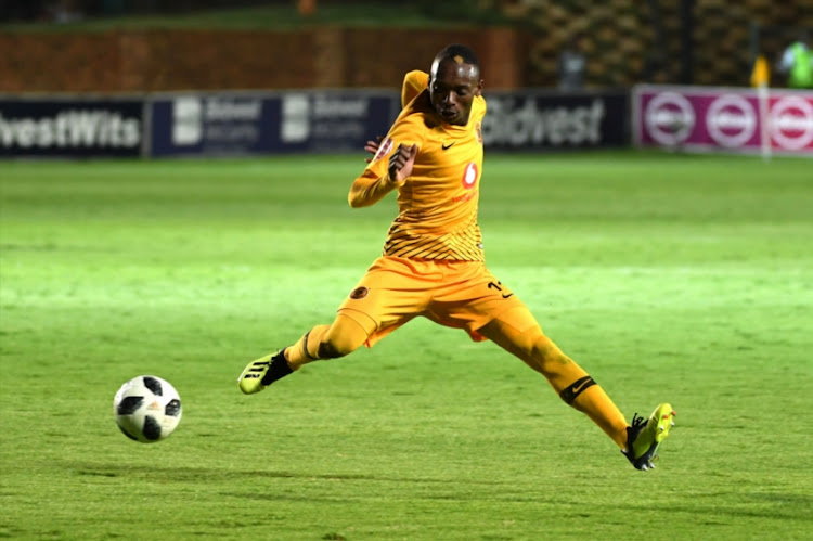 Khama Billiat of Kaizer Chiefs during the Absa Premiership match between Bidvest Wits and Kaizer Chiefs at Bidvest Stadium on January 09, 2019 in Johannesburg, South Africa.