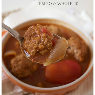 Easy Paleo Meatball Soup