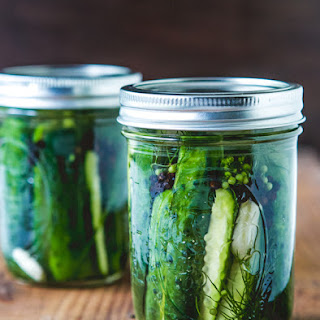 Garlic Dill Refrigerator Pickles Recipes