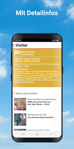 Wetter by t-online  screenshots 3