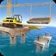 River Bridge Builds Construction: Free games