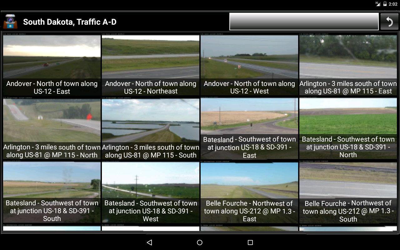 Cameras South Dakota Traffic- screenshot