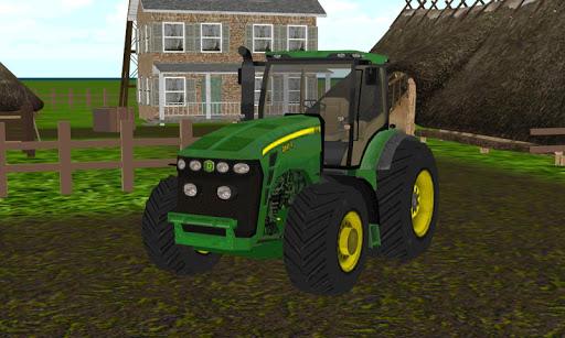 農業トラクタークルーシミュレーター3D