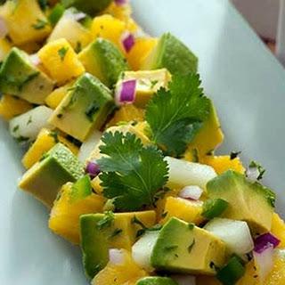 Avocado & Pineapple Salad.