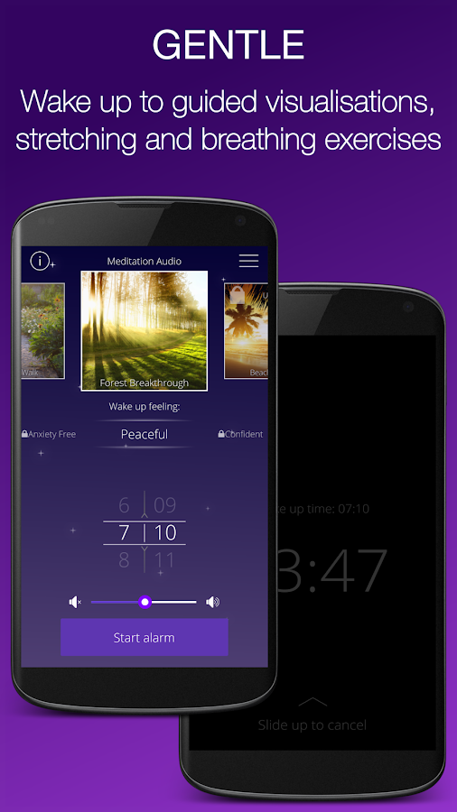 Easy Rise Alarm Clock- screenshot