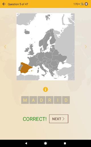World Geography Quiz: Countries, Maps, Capitals screenshots apkspray 20
