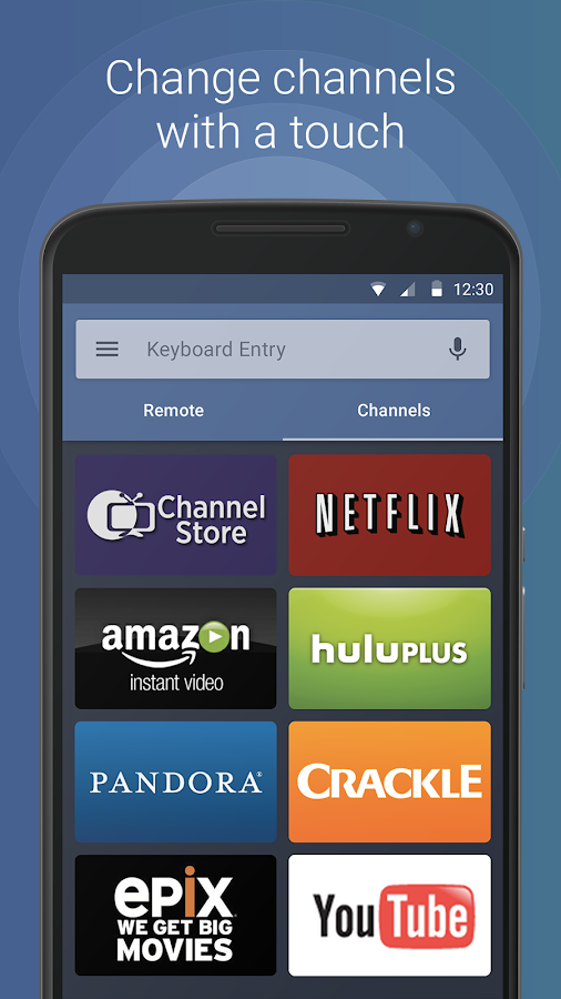 Remote for Roku - RoByte- screenshot