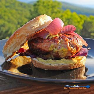 Curried Pork Burgers