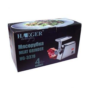Masina de tocat, accesorii incluse, Haeger HG-3378