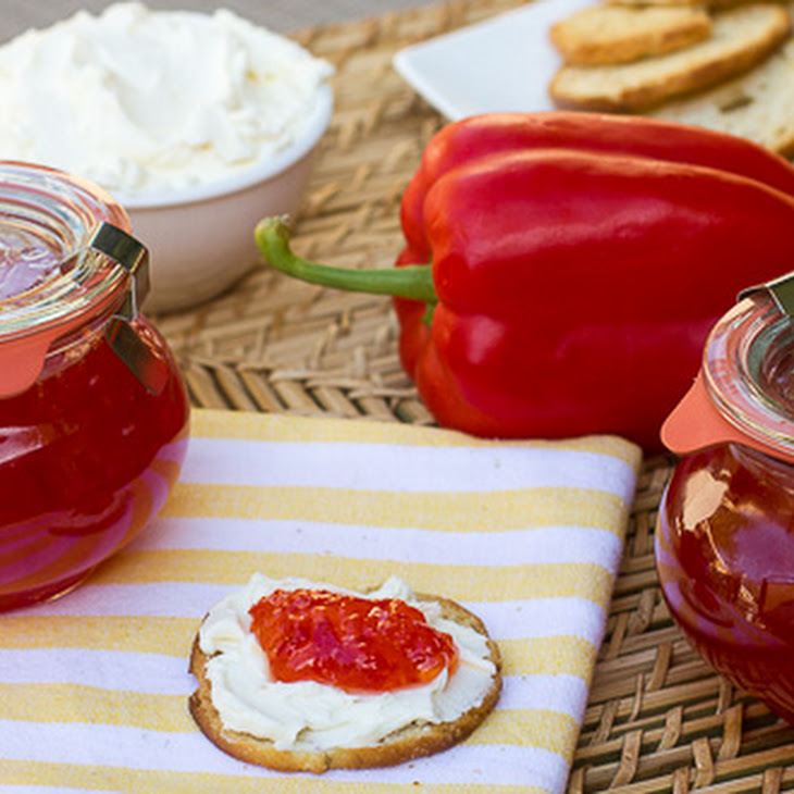 Sweet Red Pepper Jelly Recipe