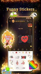 Fire Messenger for SMS - Default SMS&Phone handler