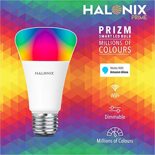 Halonix Wi-Fi Enabled Smart Bulb E27 12-Watt 16 Million Colors + Warm  White/Neutral White/White) (Compatible with Amazon Alexa and Google  Assistant): Amazon.in: Home & Kitchen