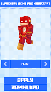 Superhero Skins for Minecraft PE 🎮 16