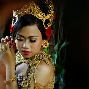 beauty of modification fashion by Widia Widana - People Portraits of Women