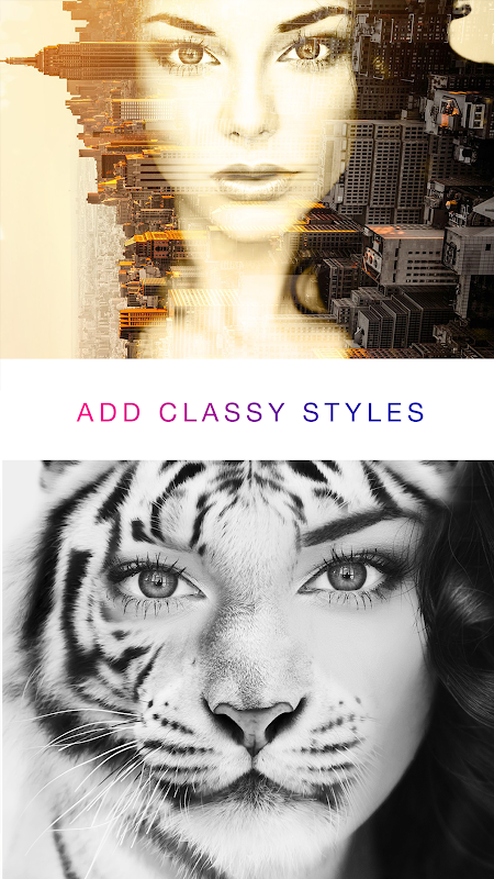 Photo Lab Picture Editor: face effects, art frames screenshots