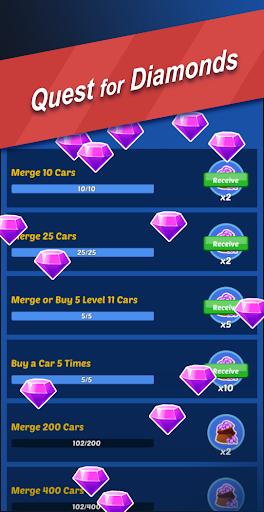 Ultimate Merge Cars: Idle Driving & Racing Tycoon apktram screenshots 6