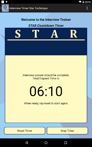 Interview STAR Timer Technique screenshot 10