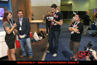 Photo: GameZombie on the scene.