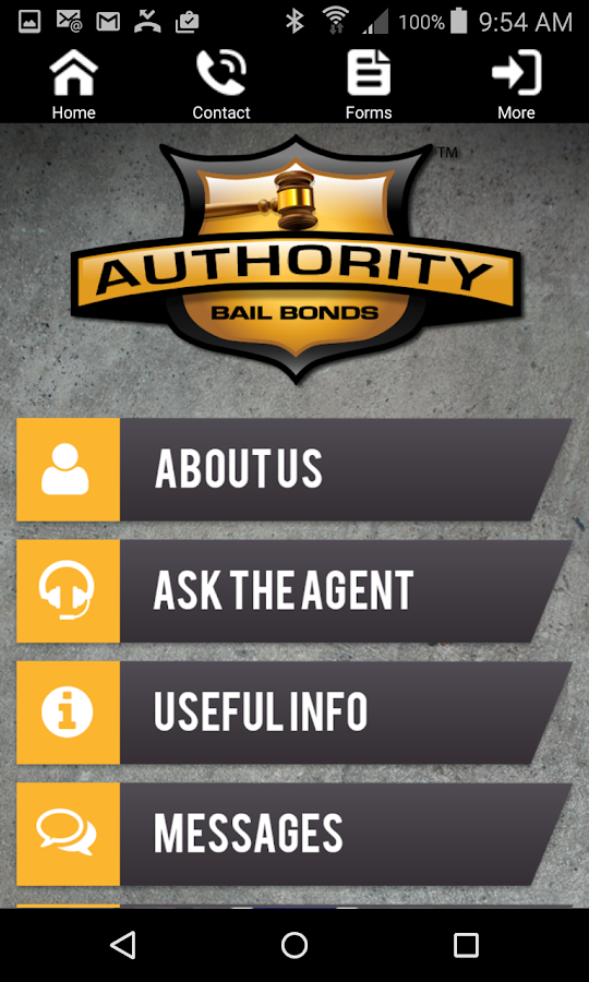 Authority Bail Bonds- screenshot