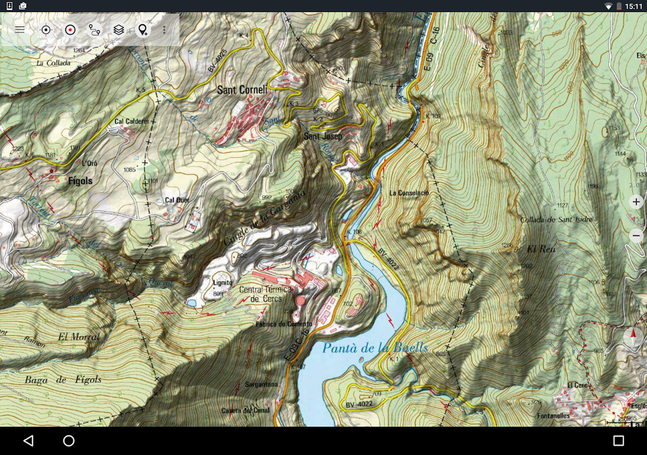 Spain Topo Maps Android Apps On Google Play - Us topographic map kmz