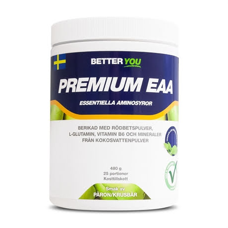 Better You Premium EAA 480g - Päron Krusbär