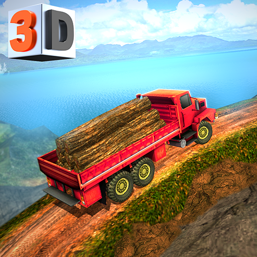 Offroad Log Transporter – Hill Climb Cargo Truck (game)