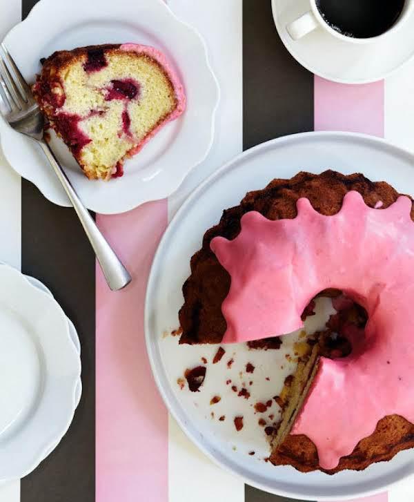 Cranberry Creme Fraiche Bundt Cake Recipe