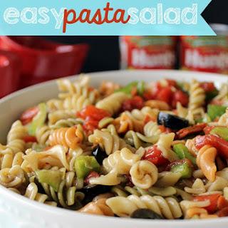 Easy Pasta Salad {summer recipes} #DinnerDone.