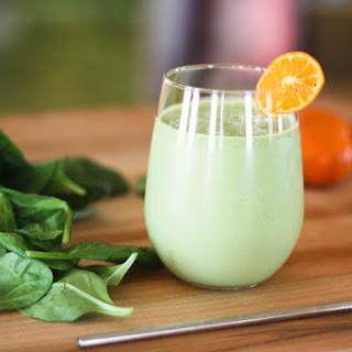 Green Orange Julius Smoothie