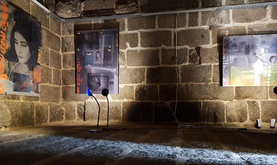 Arte contemporânea em exposição no Bairro do Castelo