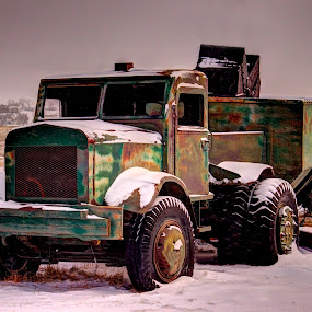 Old Coal haul Truck by Greg Harcharik - Transportation Other ( . )