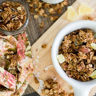 Easy Tropical Granola
