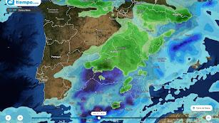 A partir de este lunes las temperaturas bajarán en todas las comarcas almerienses