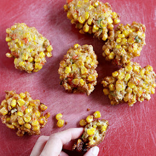 CORN FRITTERS / PERKEDEL JAGUNG (30-35 small pieces)