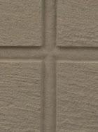 """Croix sculptée sur pierre en creux """" à l'égyptienne"""" dans une dalle de réemploi dans un cimetière de villae provençal"""