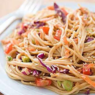 Hot or Cold Sesame Noodles.