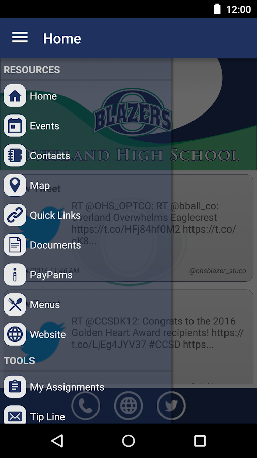 Overland High School- screenshot