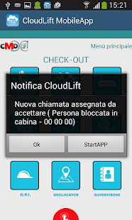 CloudLift MobileAPP - náhled