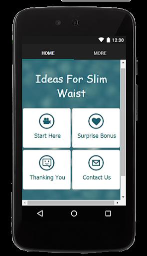 Ideas For Slim Waist