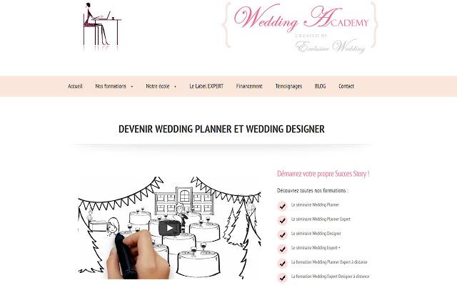 Formation Wedding Planner en ligne