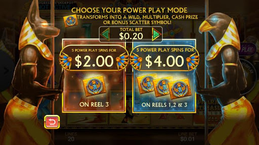 Casino Free Reel Game - PHARAOHS TREASURE DELUXE 1.0.1 screenshots 4