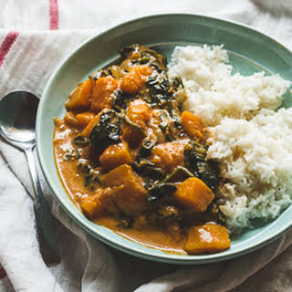 Butternut Squash Red Curry.
