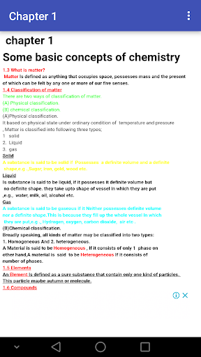 Class 11 Chemistry Notes 2019-2020 screenshots 2