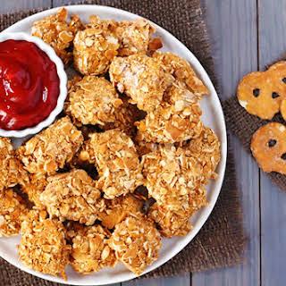 Pretzel-Crusted Chicken Nuggets.