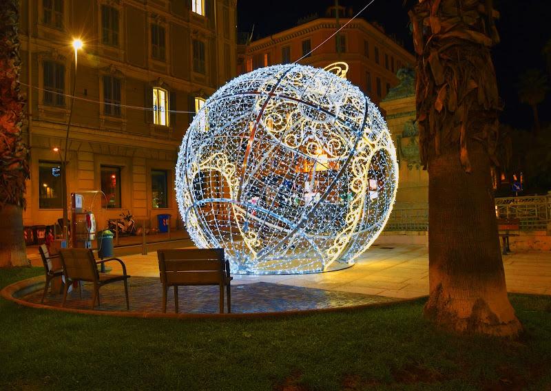Sanremo, luci di Natale  di Ingles Alberti