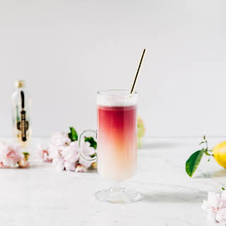 Red Wine Gin Sour.